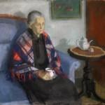1953_34  Nagymamám arcképe - 51x62cm - Pastel,karton