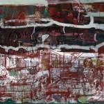 1963_44  Dűrer szelleme - 65x77.5cm - Olaj,monotipia,papír