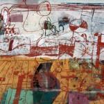 1966_1  Hook van holland I. - 50x60cm - Monotipia,gouache,pastel,papír