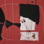 1969_5  Helice - 50x64.5cm - Collage,pasztel,papír
