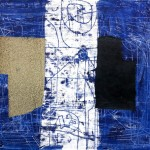 1970_18  Miroir - 50x65cm - Monotipia,collage,olaj,papír