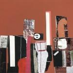 1970_38  Collage - 50x65cm - Collage,kréta,papír