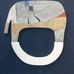 1970_56  Fa relief - 32x23cm - Relief,akril,fa