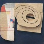 1970_58  Fa relief - 22.5x35.5cm - Relief,akril,fa