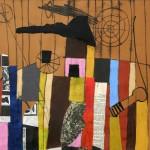 1971_11  Collage - 43x38.5cm - Pastel,gouash,collage,papír