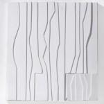 1973_27  Trois formes - 51x68cm - Szén,papír
