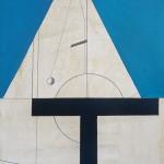 1974_25  Trois symboles - 99x68cm - Akril,vászon