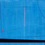 1977_85  Graphidion bleu - 55x74cm - Domboritás,gouache,grafit,papír