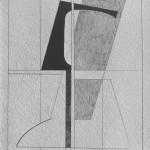 1977_95  Dessin - 40x30cm - Grafit,gouache,papír