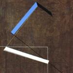 1985_62  Espacement I. - 65x48cm - Akril,grafit,vászon