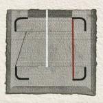 1987_50  Aquarelle - 9.5x9.5cm - Aquarelle,papír