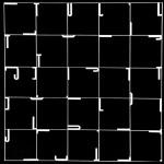1988_49  Akcentusok - 15.5x15.5cm - Elektro grafika,papír