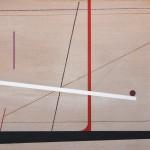 1989_81  Tér átlókkal - 51x72cm - Akril,karton
