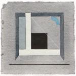 1991_44  Aquarelle-relief - 13.5x13.5cm - Aquarelle,papír