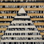 2003_28  Collage - 10.5x10cm - Akril,collage,vászon,papír