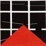 2011_23  Pyramidale - 11.2x11.6cm - Akril,papír