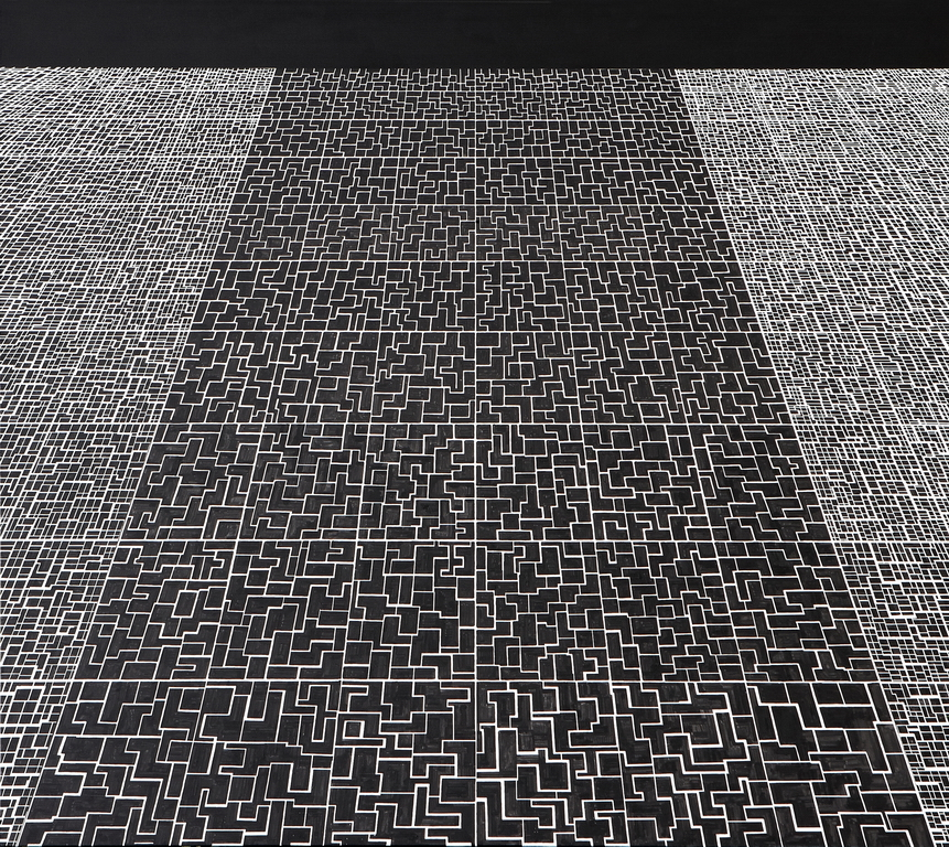 2011_40  Vers L'infini - 180x200cm - Akril,vászon